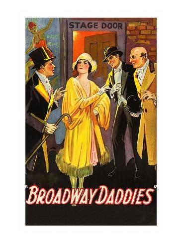 Broadway Daddies Art Print