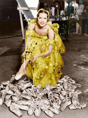 Broadway Melody of 1936, Eleanor Powell, on set, 1935 Fotografia