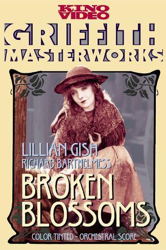 Broken Blossoms, Lillian Gish Poster