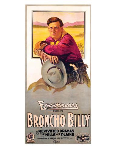 Broncho Billy - 1915 Giclee Print