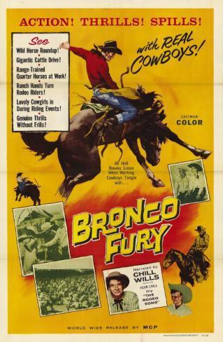 Bronco Fury, 1959 Masterprint