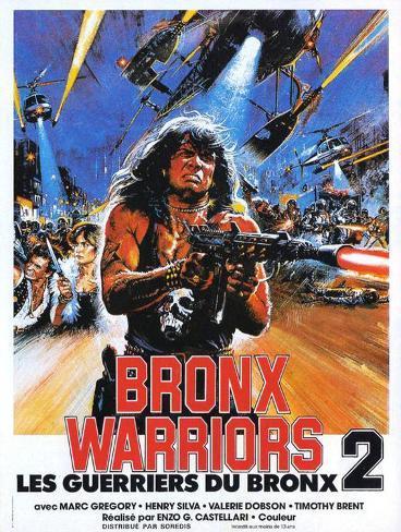 Bronx Warriors 2 Masterprint