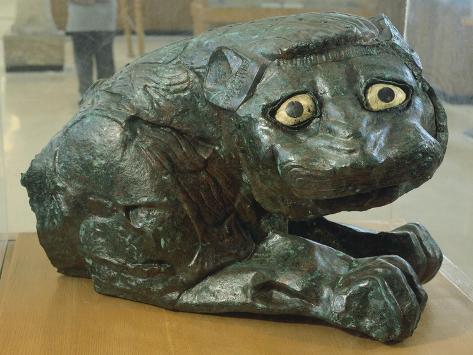 Bronze Lion, from Mari, Syria Giclee Print