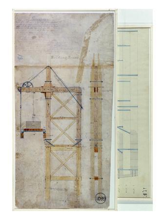 Brooklyn Bridge     Diagram    Giclee Print at AllPosters