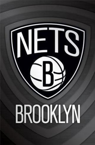 Brooklyn Nets Logo Poster
