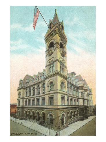 Brooklyn Post Office, New York City Art Print