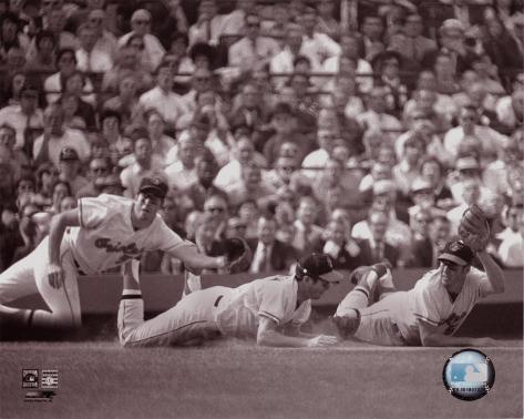 Brooks Robinson  - Multi-Exposure - ©Photofile Photo