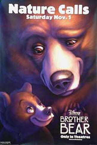 Brother Bear Double-sided poster