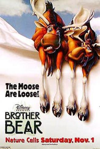 Brother Bear Original Poster