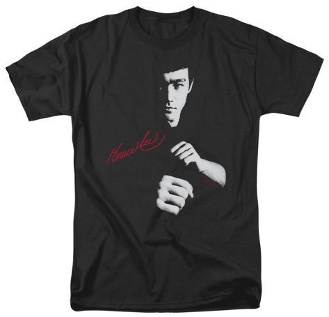Bruce Lee-The Dragon Awaits T-Shirt