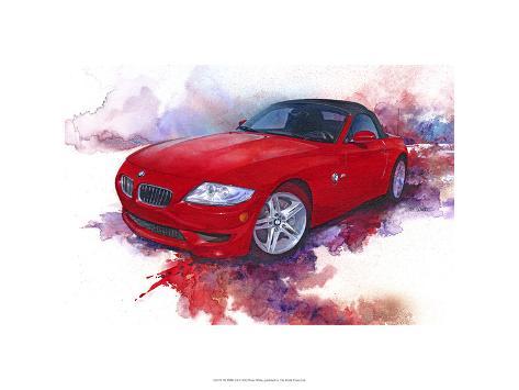 '06 BMW Z4 Premium Giclee Print
