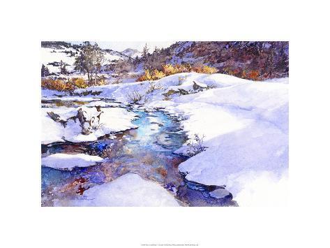 Deer Creek Bend - Colorado Premium Giclee Print