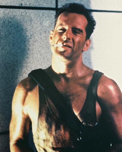 Bruce Willis - Die Hard Photo