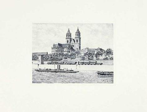 Magdeburg, Dom (quer) Collectable Print