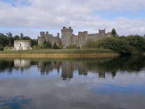 Ashford Castle, Cong Area, County Mayo, Connacht, Eire (Ireland) Photographic Print