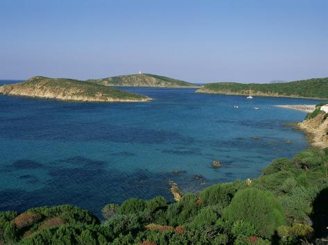 Chia Beach, South Coast, Island of Sardinia, Italy, Mediterranean Stampa fotografica