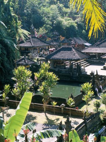 Tirta Empul Temple, Ubud Region, Island of Bali, Indonesia, Southeast Asia Photographic Print