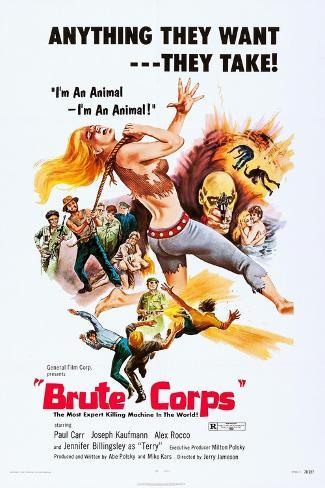 Brute Corps Art Print