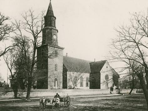 Bruton Parish Church Photographic Print