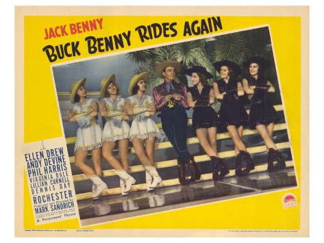 Buck Benny Rides Again, 1940 Stretched Canvas Print