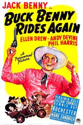 Buck Benny Rides Again Premium Giclee Print