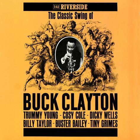 Buck Clayton - The Classic Swing of Buck Clayton Wall Decal