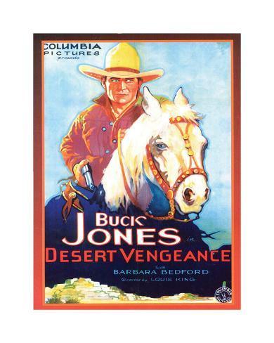 Buck Jones Impressão giclée