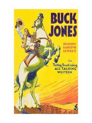 Buck Jones Art Print