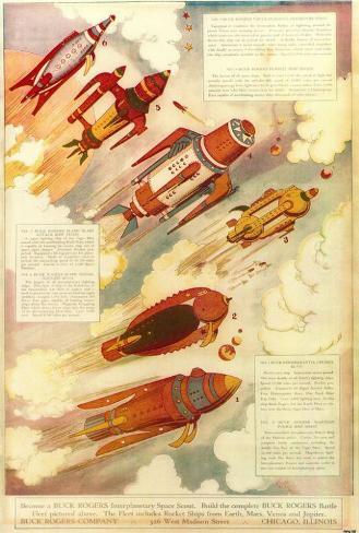 Buck Rogers, 1939 Poster