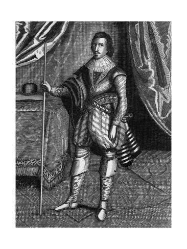 Buckingham (Droeshout) Giclee Print