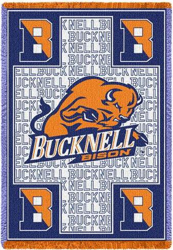Bucknell University, Bison Throw Blanket
