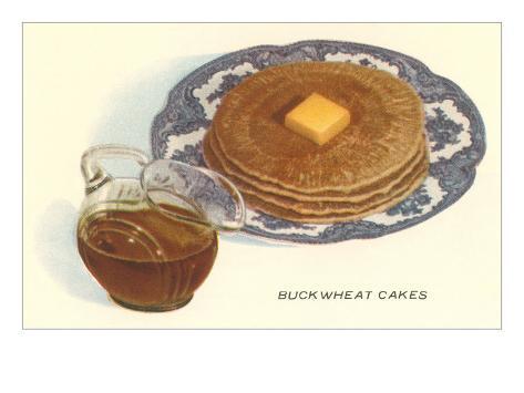 Buckwheat Cakes Art Print