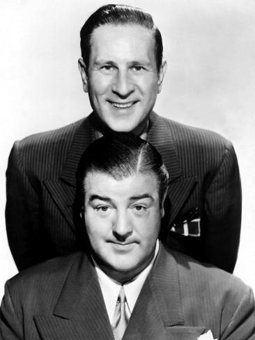 Bud Abbott, Lou Costello, 1940s Photo