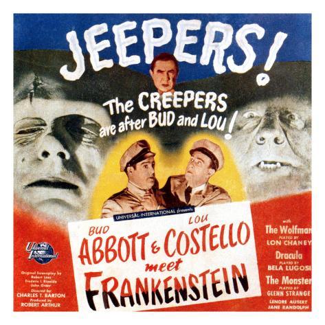 Bud Abbott & Lou Costello Meet Frankenstein, 1948 Photo