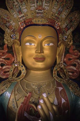 Buddha Maitreya Stampa giclée