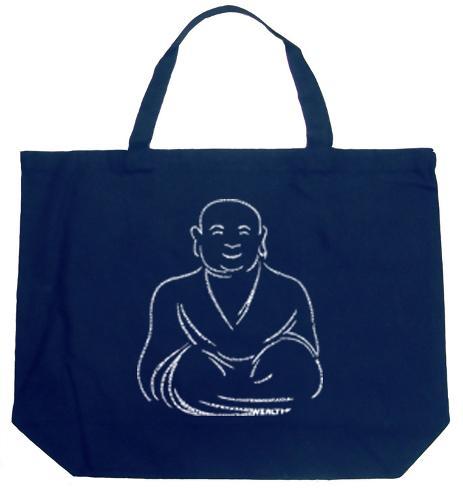 buddha - Positive Wishes Tote Bag