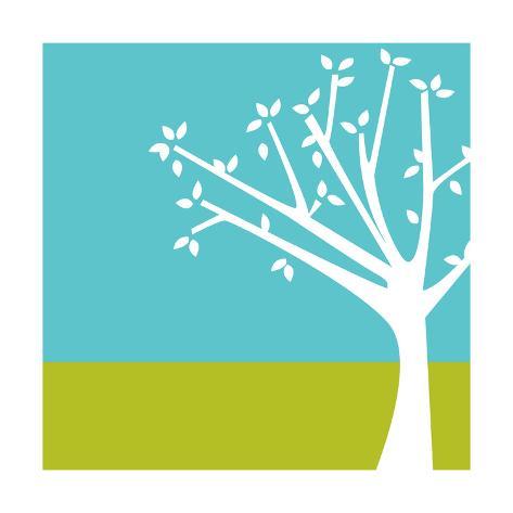 Budding Tree Premium Giclee Print