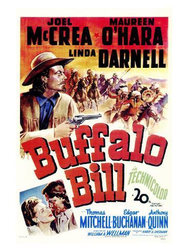 Buffalo Bill, 1944 Art Print