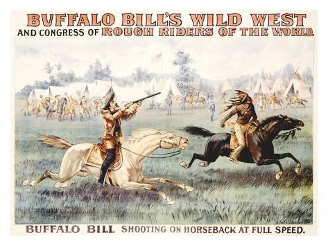 Buffalo Bill's Wild West, Congress Giclee Print