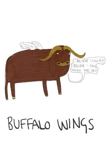 Buffalo Wings Art Print
