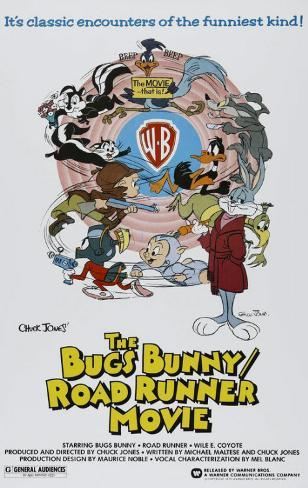 Bugs Bunny/Road Runner Movie Masterprint