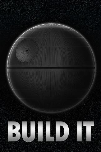 Build a Death Star アートプリント