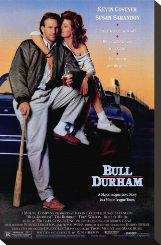 Bull Durham Stampa su tela