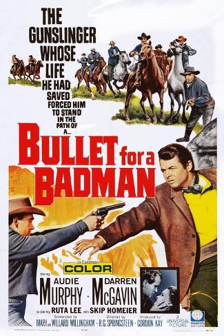 Bullet for a Badman Impressão artística