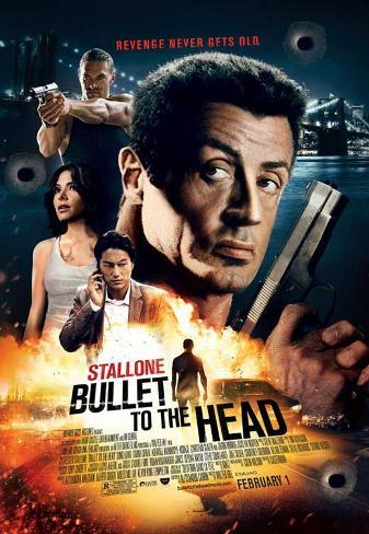 Bullet to the Head Movie Poster Impressão original
