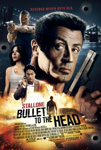 Bullet to the Head - Sylvester Stallone Double Sided Movie Poster Double-sided poster