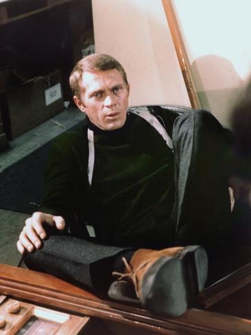 Bullitt 1968 Directed by Peter Yates Steve Mcqueen Fotografía