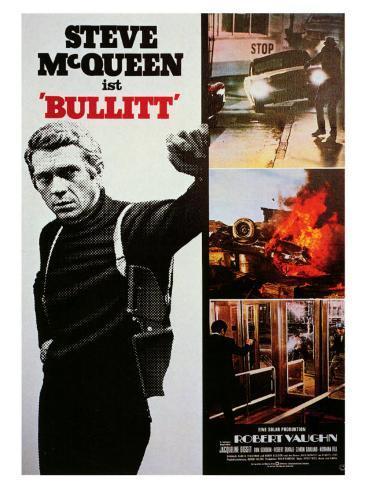 Bullitt, 1968 Art Print