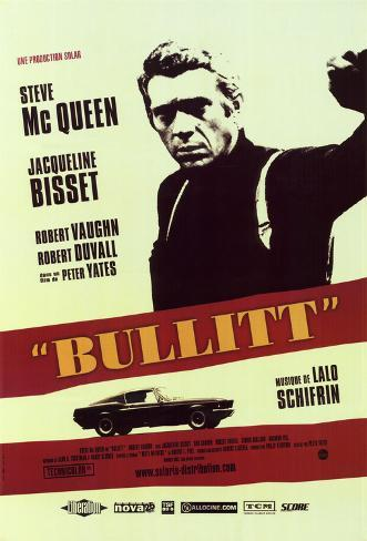 Bullitt - French Style Póster
