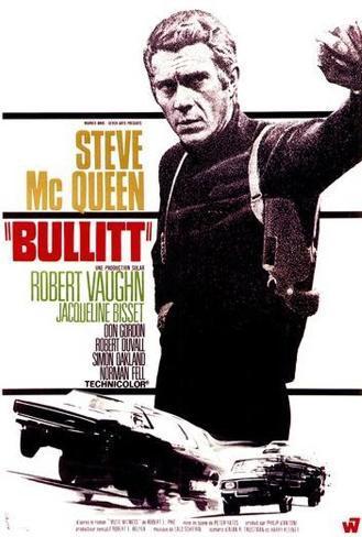 Bullitt - French Style Poster